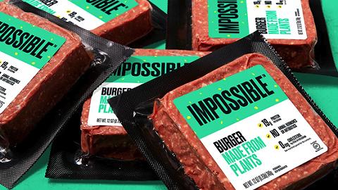 人造肉概念火爆!创业公司Impossible Foods再获2亿美元融资