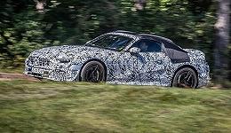 出自AMG部门之手,梅赛德斯-AMG新SL进入最终测试阶段|谍照