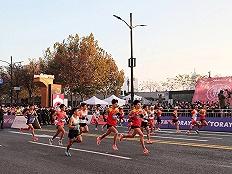 晋升白金标后的首届上海马拉松,耐克坚挺、汽车赞助商更换