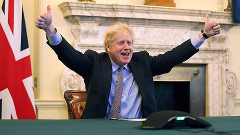 英国完成脱欧贸易协议立法,议员:有总比没有好