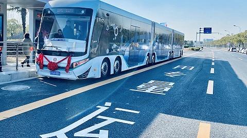 国内第一条DRT数字轨道电车在上海临港开通