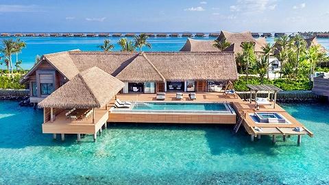 新酒店 | 馬爾代夫華爾道夫私人島嶼揭幕,有 32000 尺的水上別墅