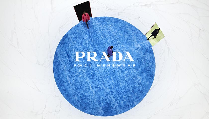 Prada 2021秋冬男装时装秀直播