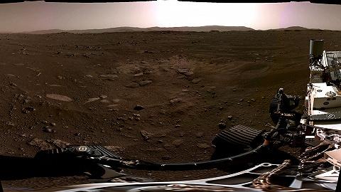 """来自火星的风声:""""毅力号""""视频公开登陆火星第一视角"""