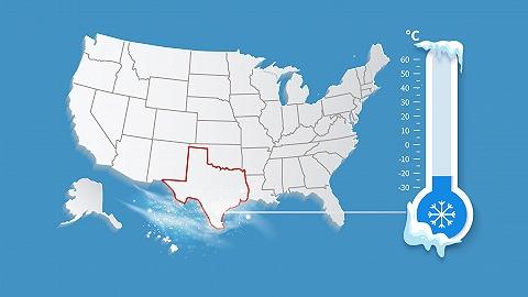数据|美国得州多地最低气温破纪录,断水、断电,农业或损失10亿美元