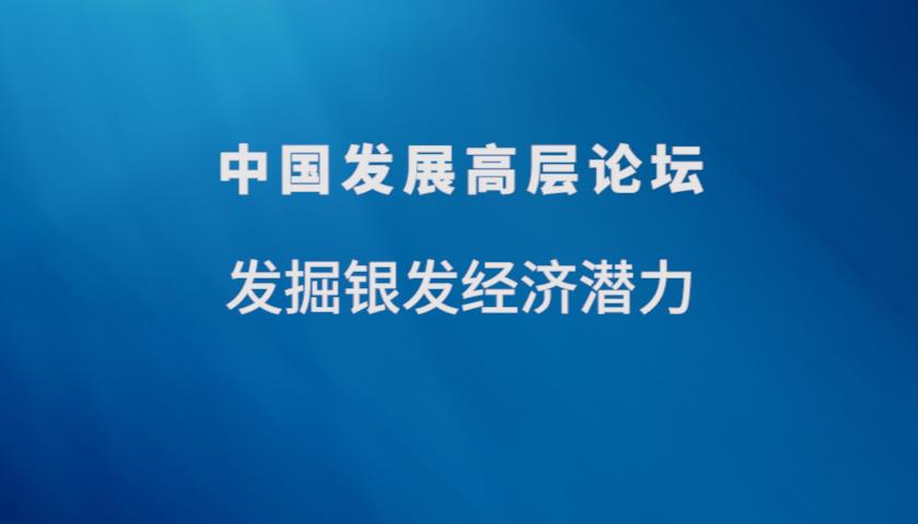 中国发展高层论坛2021 | 发掘银发经济潜力