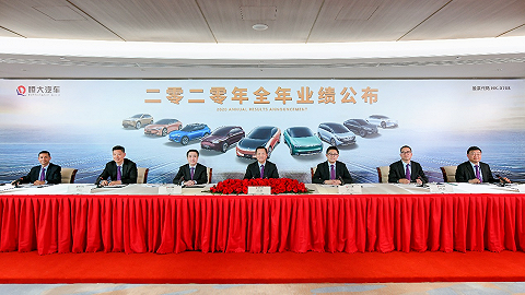 恒大汽车发布智能网联系统,2025年计划产销超100万辆