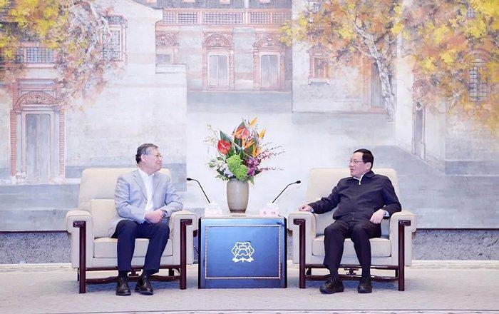 摩登5平台李强今天与刘新成率领的民进中央调研组座谈,共商加强科研队伍建设!