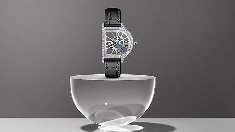 卡地亚钟型时计打破常规读时体验,亨利慕时橡皮擦指针腕表展现极致简约丨当周腕表