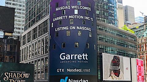 盖瑞特完成财务重组,新普通股重新上市交易