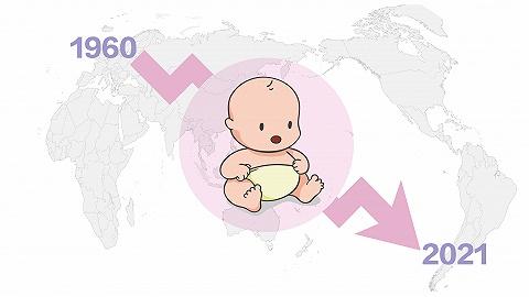 数据|半世纪以来全球平均出生率几近腰斩,没有一个国家上涨