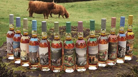 波普艺术邂逅威士忌,彼得·布莱克爵士与麦卡伦的三度合作   发现好物