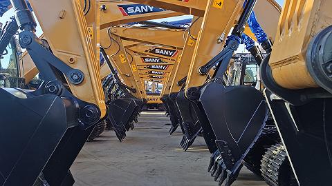三一重工挖掘机销量首获全球第一