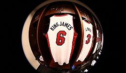 詹姆斯将换回6号球衣,主演电影不忘植入球鞋广告