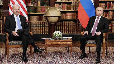 """拜登称俄罗斯无意与美开展""""新冷战"""",还送给普京这两样礼物"""