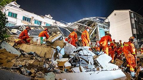 【图集】苏州酒店坍塌事故搜救工作结束,17人遇难