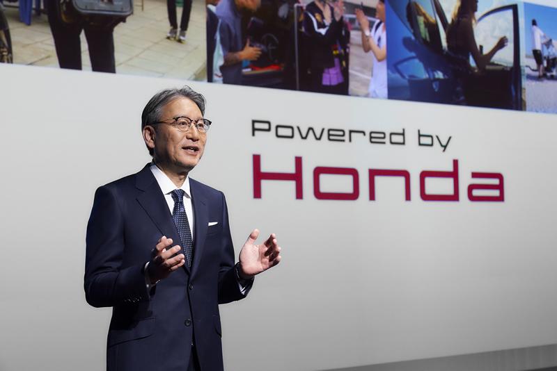 本田CEO三部敏宏:卖电动车不赚钱,它们就是家用电器
