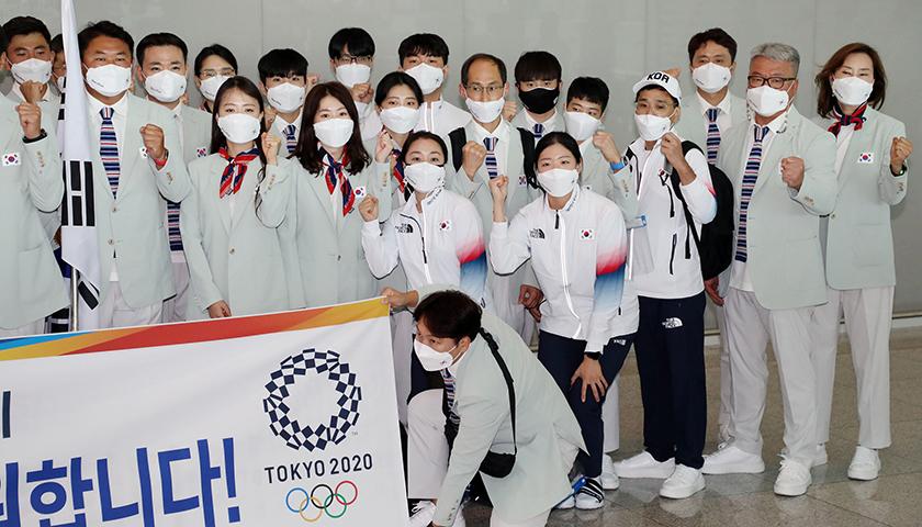 天富娱乐会员东京奥运55名相关人员确诊,韩国代表团忧食品安全自带泡菜