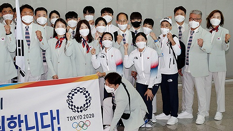 东京奥运55名相关人员确诊,韩国代表团忧食品安全自带泡菜