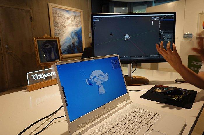 体验宏碁裸眼3D技术:不只为设计师服务,还想拓展至更多行业