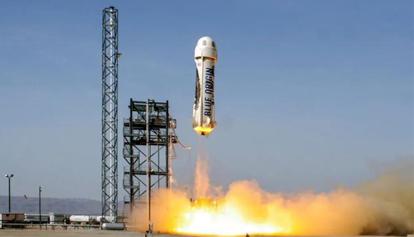 凤凰城平台世界首富贝索斯完成首次太空游,商业航天巨头竞争加速