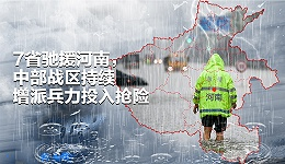 图解|7省驰援河南,中部战区持续增派兵力投入抢险
