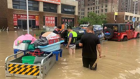 上海民间救援队星夜驰援河南,正全力营救工厂被困人员