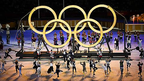 东京奥运会开幕式大阪直美点燃主火炬,运动员入场使用游戏背景音