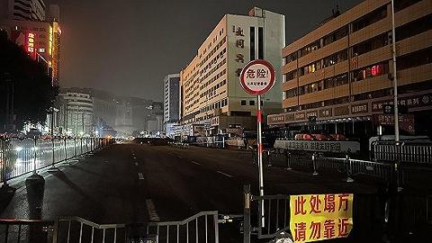 郑州大同宾馆有倒塌风险,周边已围挡禁行