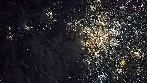 【图集】绝美!中国航天员从太空拍摄的北京夜景