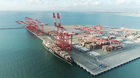"""上港集团以色列海法新港正式开港,为""""一带一路""""输出""""智慧港口"""""""