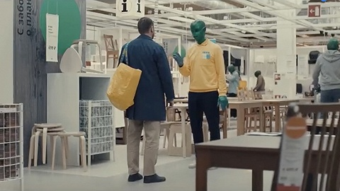 """宜家想让""""绿色外星人""""占领地球"""