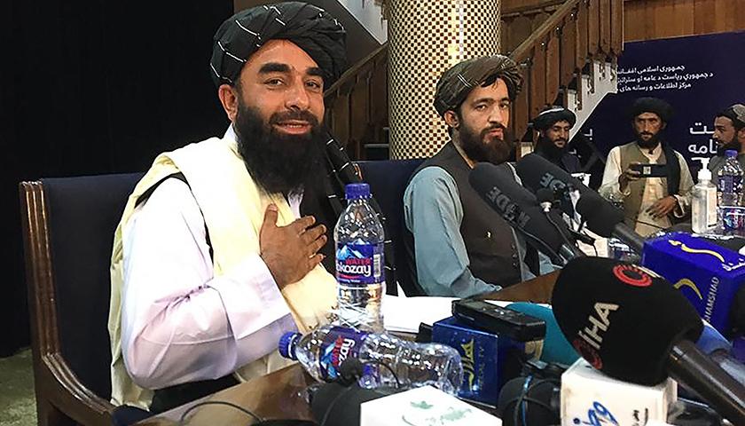 华信娱乐官网阿富汗塔利班组建新政府,内政部长是美国悬赏500万美元的通缉对象