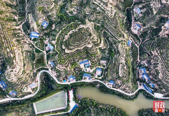 华信娱乐代理时政画说丨我家住在黄土高坡