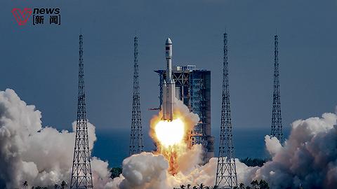 太空快递再出发,天舟三号货运飞船发射成功