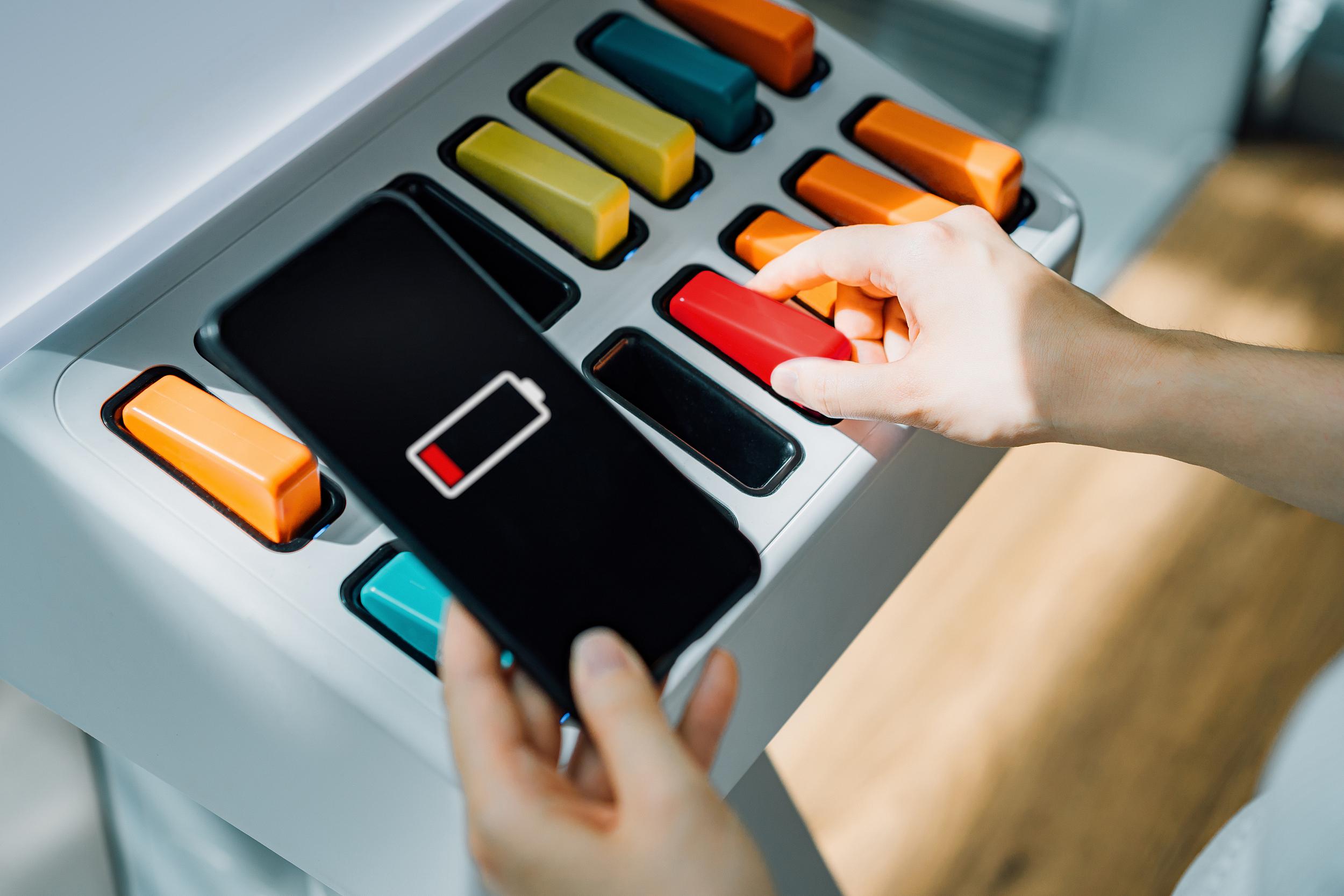 快看   竹芒科技共享充电宝在线商铺点位达到一百万
