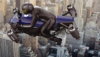 【特写】全球首款喷气式飞行摩托车开卖,私人交通工具进入三维时代?