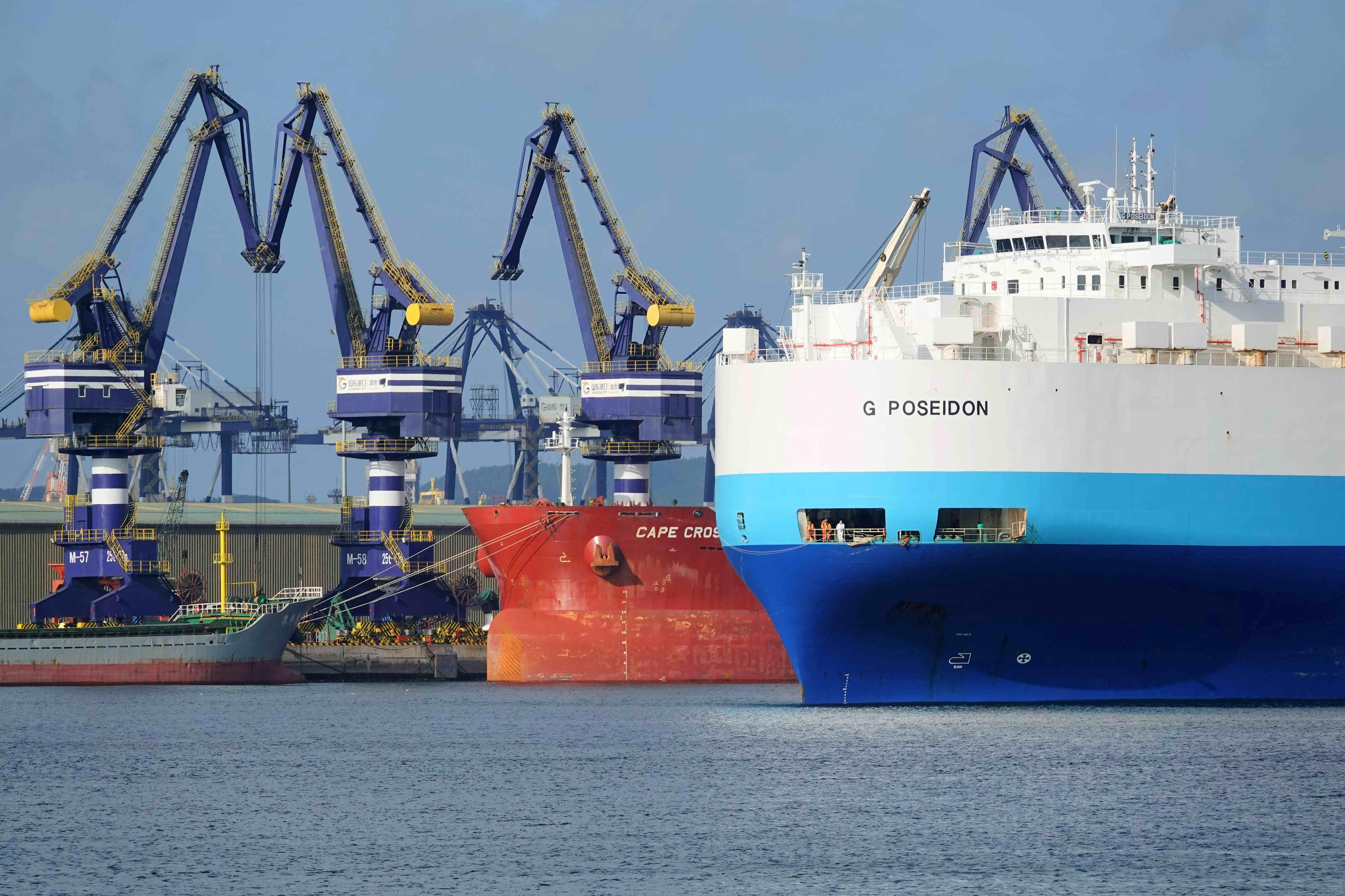 快看 美国七大港口负责人联名致信拜登政府申请提供资金支持