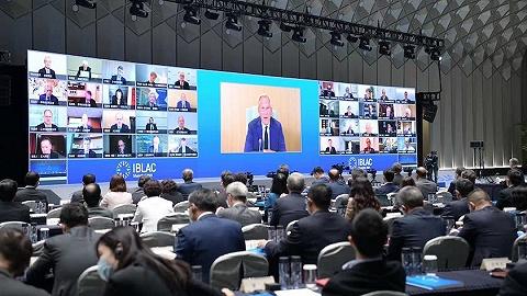"""第33次市咨会举行视频会议,40位国际企业家""""云聚""""上海"""