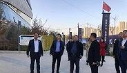 绿地集团西北区域管理总部总经理李蓟视察乌鲁木齐项目