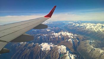 2020年首场降雪天津空管全力保障航班运行安全