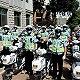 """市区   天津河北区交警支队组织开展""""一盔一带、从警做起""""宣..."""