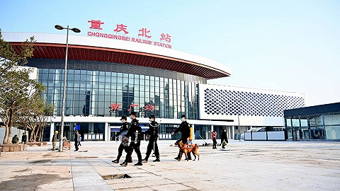终于,重庆北站南北广场任意一边都可进站了