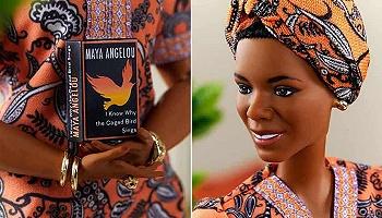 當黑人女作家瑪雅·安吉洛的形象成為芭比娃娃