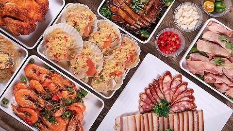 """鼓励""""到家消费"""" 盒马在渝推出线上年夜饭套餐"""