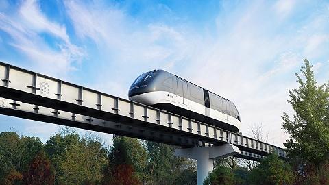 """全球首条无人驾驶""""云巴""""示范线在重庆璧山开通,运行时刻表发布"""