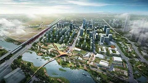 西咸住建公布西咸新区两个开发单元综合规划,能金区三、四期规划出炉
