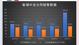 """新湖中宝:上半年增收不增利,""""三道红线""""转""""黄档"""""""