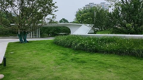 温江柳城街道两拆一增:建微绿地打造居住、办公、商业休闲复合空间