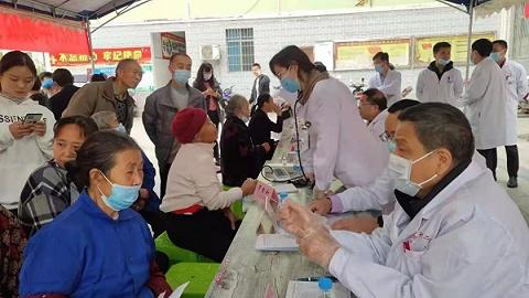 致公党重庆市委组织专家团酉阳义诊,两天惠及1200人